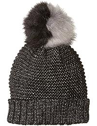 Women's Lurex Knit Beanie