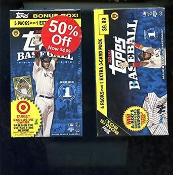 2008 Topps Series 1 One Baseball Card Set Target Wax Pack