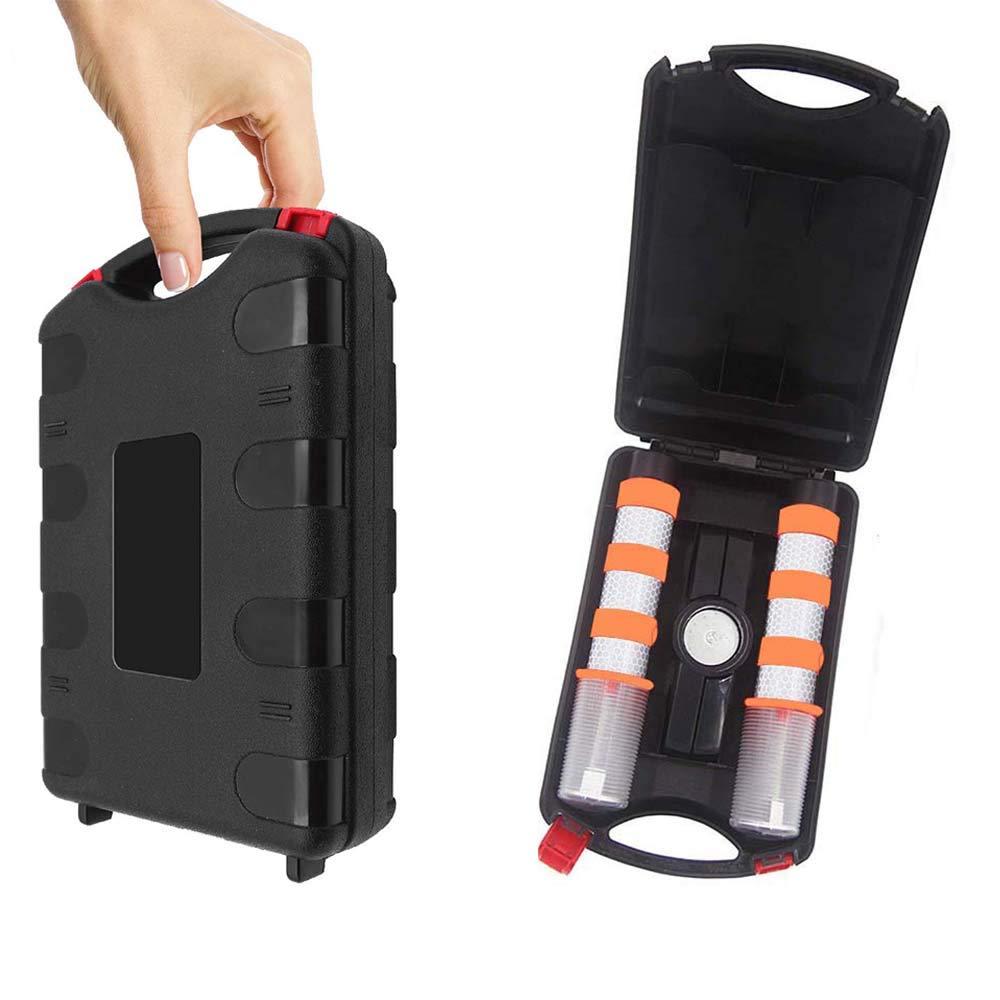 Namotu LED Warnleuchte Set,2 Pack Auto Warnblinkleuchte Orange mit Fu/ß und St/änder