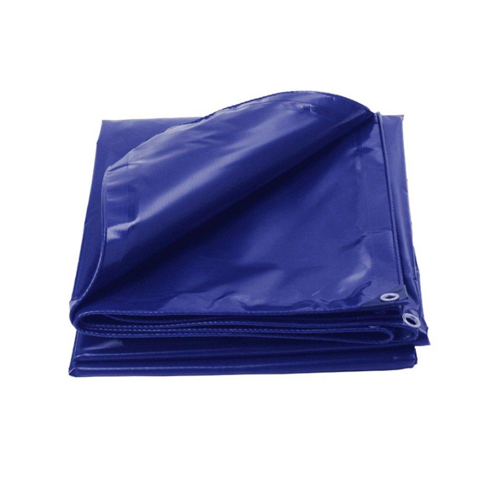 ふわふわ 青 雨布 防水、 日焼け止め 車、 トラック オイルクロス アウトドア ヤード シェッドクロス サンシールド ポリエチレン PVC,400 * 600Cm B07FYQTQSC   400*600cm