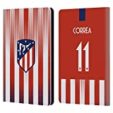 Official Atletico Madrid Ángel Correa 2018/19 Players Home Kit Group 1 Leather Book Wallet Case Cover Compatible for Kindle Paperwhite 1/2 / 3