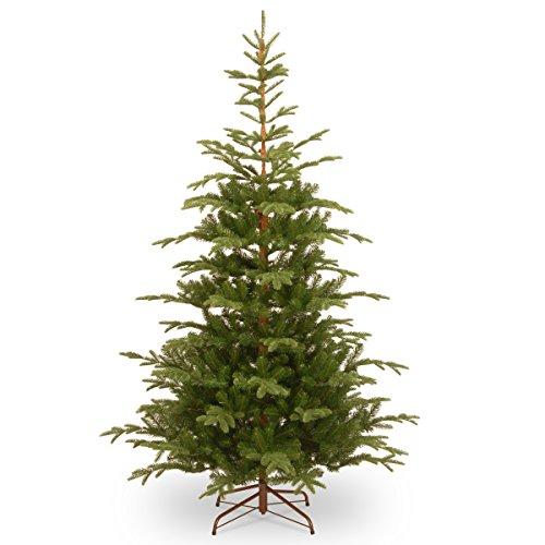Prugist Illuminati Collection 7 1/2' Feel Real(R) Norwegian Spruce Hinged Tree (Christmas Illuminati Tree)