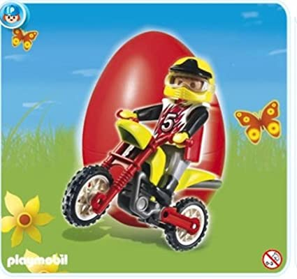 Playmobil 4923 Moto Cross Rider