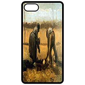 Planting Painting By Vincent Van Gogh Black Apple Iphone 6 (4.7 Inch) Cell Phone Case - Cover