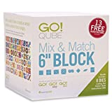 "AccuQuilt GO! Qube Mix & Match 6"" Block"
