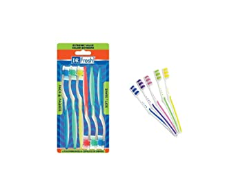 Amazon.com : 12 Firm Bristle Toothbrushes. Adult Children Teeth Cleaning Brush. Kids Adult Oral Toothbrush Firm Bristle. : Beauty