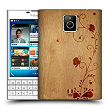 Head Case Designs Swirl Wood Art Protective Snap-on Hard Back Case Cover for BlackBerry Passport