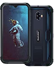 "【2019】Blackview BV5900 Rugged Smartphone IP68 Dual Sim da 16GB, 32GB Espandibili, Batteria 5580mAh, 5.7"" HD+ 3GB RAM, 13MP e 5MP, 4G Cellulare Android 9.0, GPS/Face ID/Bussola/WIFI-Nero[Italia]"