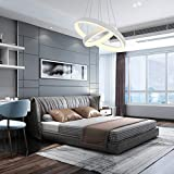 Pendant Light,ROYAL PEARL Modern Chandelier Flush
