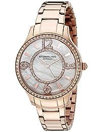 Stuhrling Original Women's 559.05 Symphony Analog Display Quartz Rose Gold Watch