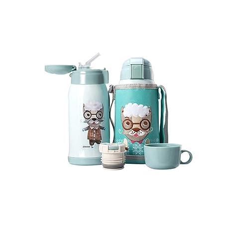 Amazon.com: Taza de viaje para niños, botella de agua ...
