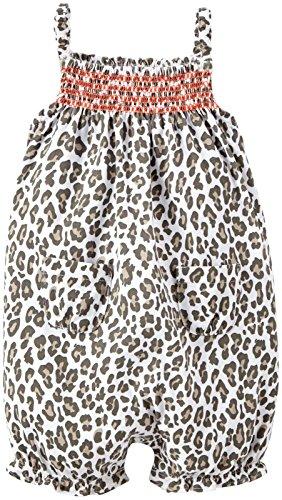 Carter's Print Sunsuit (Baby) - Leopard-3 Months