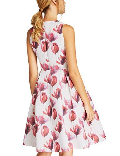 Fashion APART Kleid pink Mauve Mehrfarbig Damen orange rrPqx1dSwz