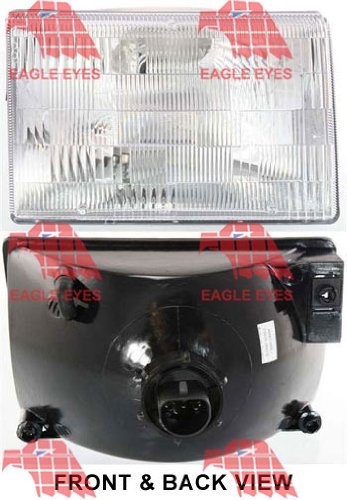 510axWsUyUL amazon com jeep grand cherokee replacement headlight assembly (with