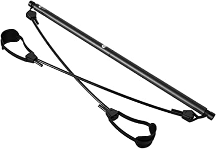 MJLXY Pilates Stick Multifuncional Yoga Bandas de Ejercicio Barra de Pilates P/érdida de PES para el Pecho Gl/úteos Plasticidad