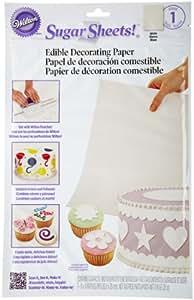 Wilton Sugar Sheet, White