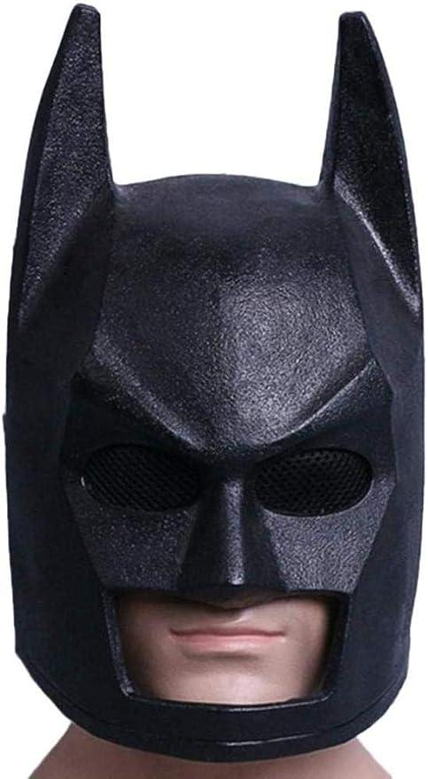 PIAOL Batman Casco Máscara Máscara De Halloween Cosplay Cara Casco ...