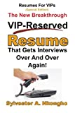 Resumes for VIPs (Special Edition), Sylvester Nkongho, 1494937336