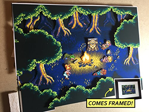Chrono Trigger Diorama (Framed Artwork) SNES