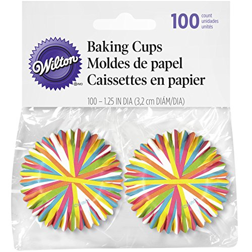 - Wilton Color Wheel Mini Baking Cups, 100 Count