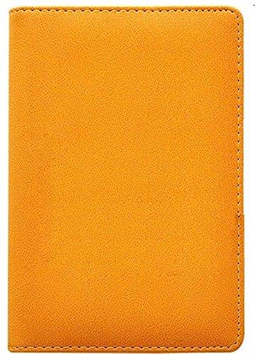 Binder Journal With Combination Lock ( Binder Diary With Combination Lock), Size: 18.5cm X 13.5cm. PU Leather Multi Color Combination Lock Journal ( Combination Lock Diary ) (Yellow)