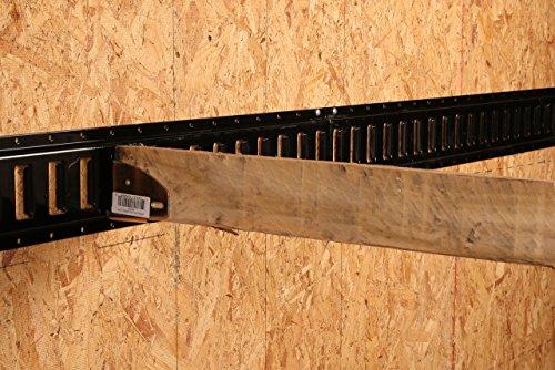 4 E Track Wood Beam End Socket Shelf Brackets W E Track