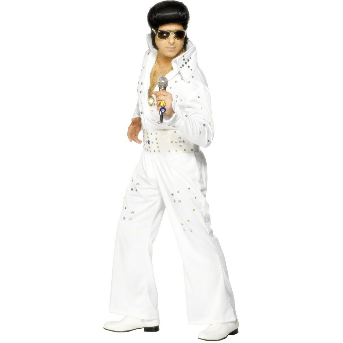 Elvis Presley vestido blanco M 48/50 rockabilly traje traje de ...