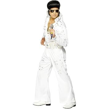 Elvis Presley vestido blanco M 48/50 rockabilly traje traje ...