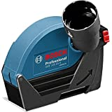 Bosch Professional 1600A003DH GDE 125 EA-S Suction Cover Cutting Discs 125 mm, 25 mm Diameter Maximum Cutting Depth, Screw Assembly, 300 g by Bosch Professional