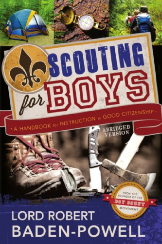 Scouting for Boys: A Handbook for Instruction in Good Citizenship by [Baden-Powell, Lord Robert]