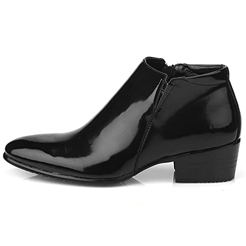 952a7a93cc953 JustOneStyle New Mens Dress Leather Shoes Formal Casual Black Ankle Boots  Deluxe