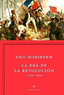 La era de la Revolución par Hobsbawm