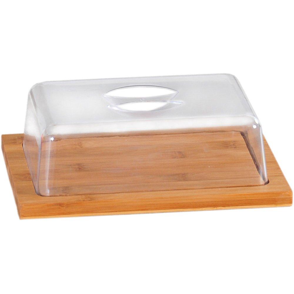 Kesper 70722 - Campana per formaggi, in bambù con certificazione FSC, dimensioni: 25 x 20 x 8 cm 58643