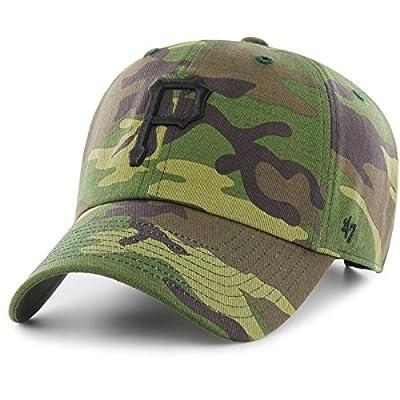'47 Brand Adjustable Cap - MLB Pittsburgh Pirates Wood camo