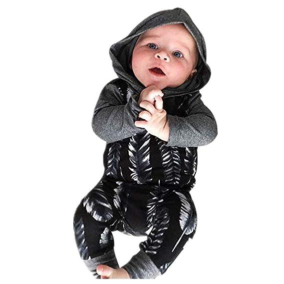 Dtuta Grenouill/èRes Pyjama B/éB/é Bouton /éLastique /à Capuche Manches Longues Bouton /éLastique Doux Et Confortable V/êTements Rampants Onesies Pleine Lune Cent Jours Anniversaire Cadeau pour Enfants