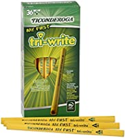 Dixon Ticonderoga My First Tri-Write Primary Pencils Without Eraser 36Ct