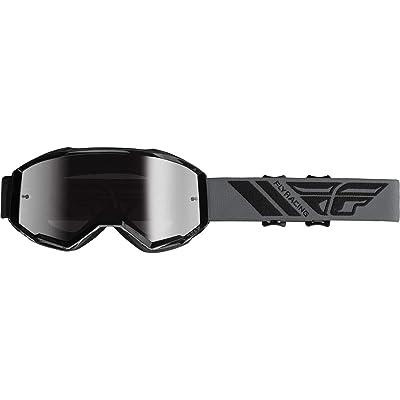 Fly Racing 2020 Zone Goggles (Black/Silver Mirror Lens): Automotive
