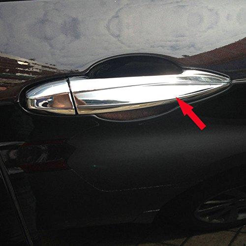 Generic Chrome Door Handle Cover Trim Trims Fit For BMW X5 2014 2015 2016