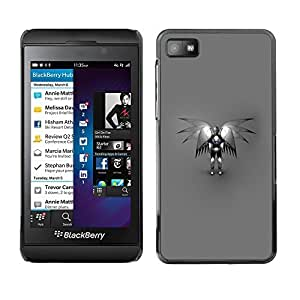 GagaDesign Phone Accessories: Hard Case Cover for Blackberry Z10 - Angel Robot