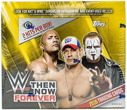 2016Topps WWE Then Now Forever Hobbyボックス