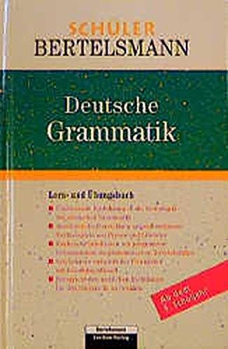 Schüler Bertelsmann. Deutsche Grammatik