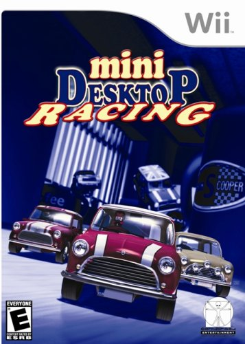 Mini Desktop Racing - Nintendo Wii - Build N Race Wii