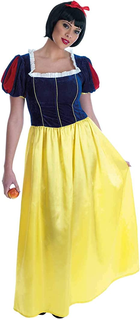 Fun Shack Amarilla Blancanieves Disfraz para Mujeres - XL: Amazon ...