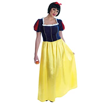 Fun Shack Amarilla Blancanieves Disfraz para Mujeres - S: Amazon ...