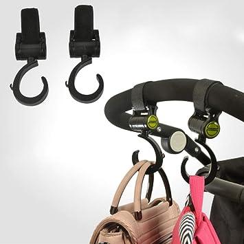 Baby Stroller Hook Multifunctional 360 Rotate Bag Hanger Universal Accessories