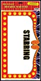 Kitchen & Housewares : Theater Marquee Peel 'N Place Party Accessory (1 count) (1/Sh)