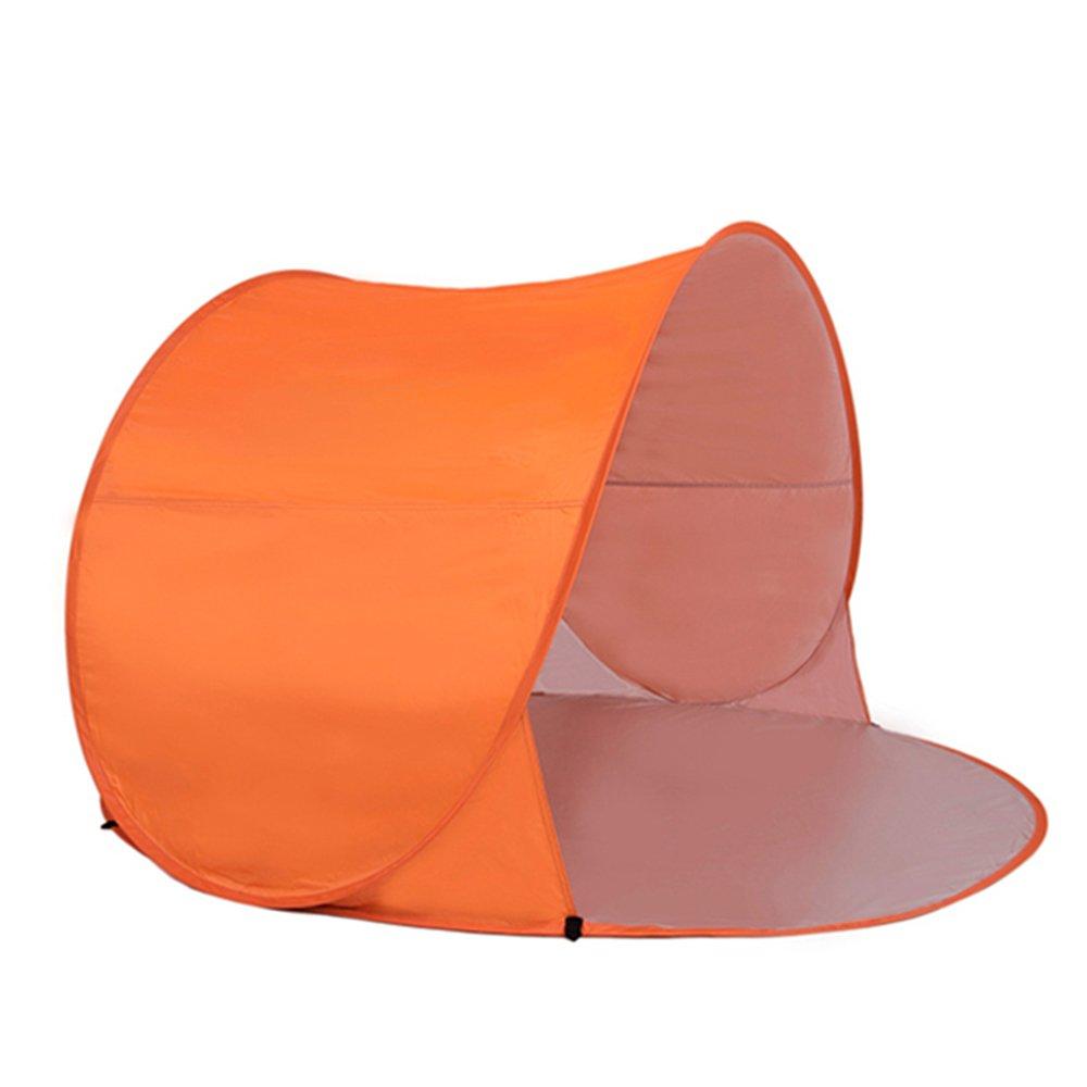 Allight Outdoor Strandzelt Strandmuscheln Zelte 1 Sekunden Pop Up Automatik Schnell FeuchtigkeitsBesteändig Sonnenschutz UV-Schutz UV40+ Regen Prävention Tragbares Super Leicht Blau,Gelb, Lila, für 1 - 2 Personen