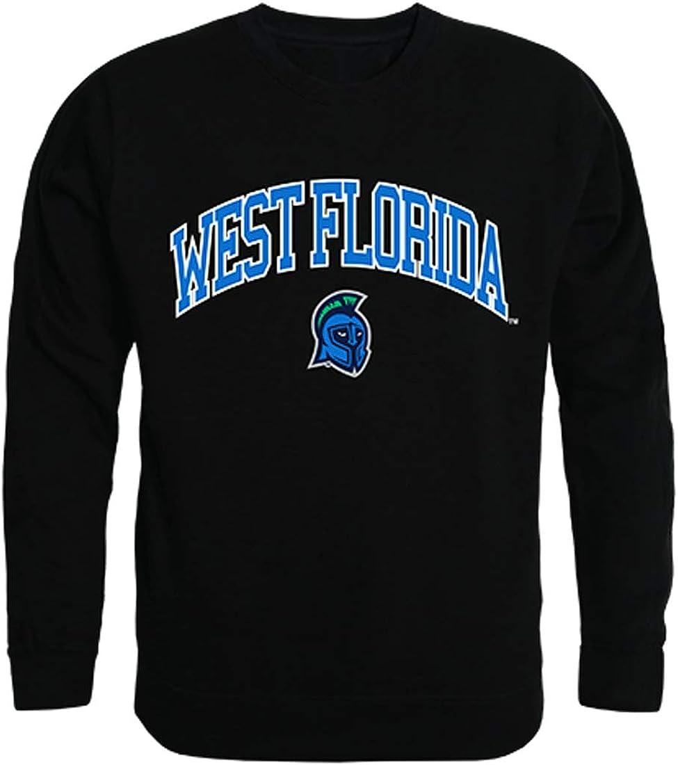 UWF University of West Florida NCAA Men's Campus Crewneck Fleece Sweatshirt