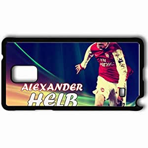 Personalized Samsung Note 4 Cell phone Case/Cover Skin Alexander Hleb Arsenal Football Black