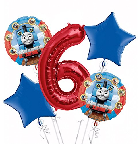 thomas-the-tank-balloon-bouquet-6th-birthday-5-pcs-party-supplies-pink